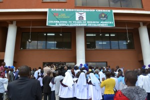 The opening of Imani II Plaza