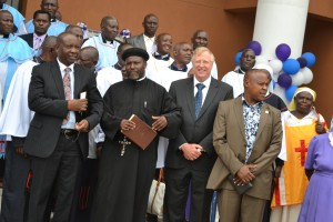 OAIC Staff: NIcta Lubaale G.S OAIC International, Fr. Joseph Mutie OAIC Kenya Chapter; Dr. Dick Seed, Theology Department.