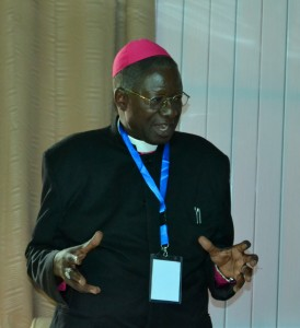 Bishop Dr. Habakkuk Abogno  addressing the Ex-com