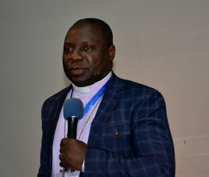 OAICs International Chairman the Most Reverend Dr. Daniel Okoh addressing the Ex-Com meeting in Ghana.