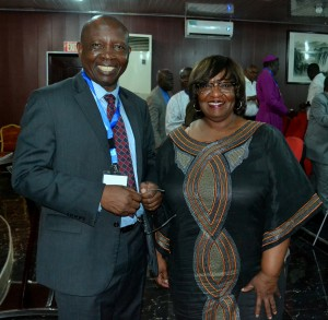 Rev. Nicta Lubaale OAICs General Secretary and Rev. Phyllis Byrd Ochilo at the Ex-Com meeting in Ghana.